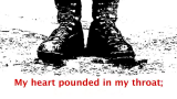Book trailer: My heart pounded in my throat