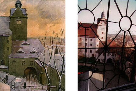 Link to Colditz Castle (Oflag IV-C): Paintings and Photos